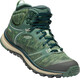 Keen Terradora Mid WP Shoes Women Duck Green/Quiet Green